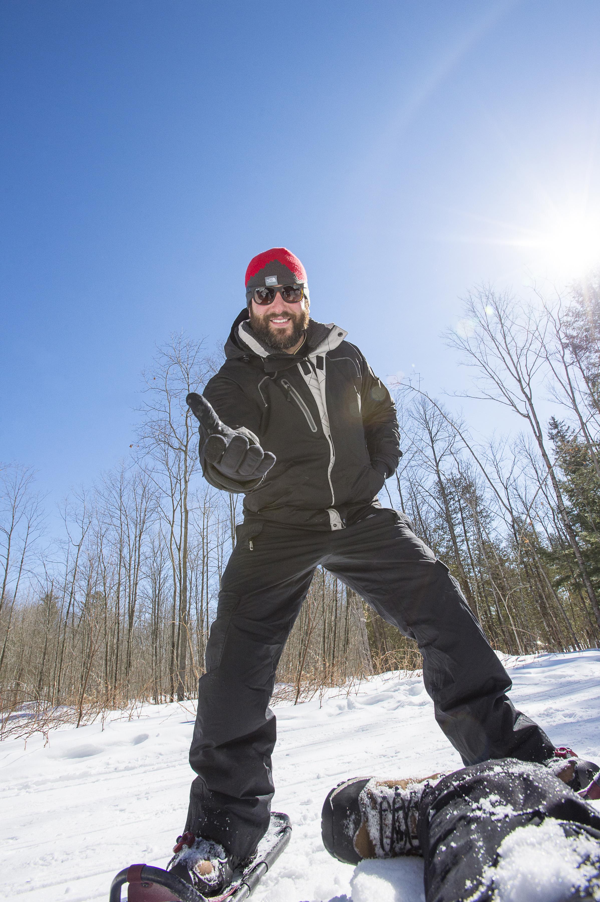 RECREATION _ SNOWSHOEING _ OHTO PHOTOSHOOT _ WINTER _ CREDIT TO TREVOR LUSH _ VERBAL PERMISSION _ 2014 (1)