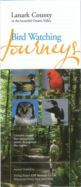 Birdwatching Brochure Cover