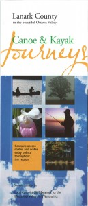Canoe and Kayak Brochure Cover