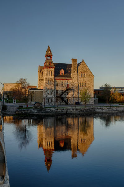 ARCHITECTURE _ ALMONTE OLD TOWN HALL _ FALL _ DESA PHOTOGRAPHY _ PURCHASED _ MISSISSIPPI MILLS _ 2013 _ HIGH RES
