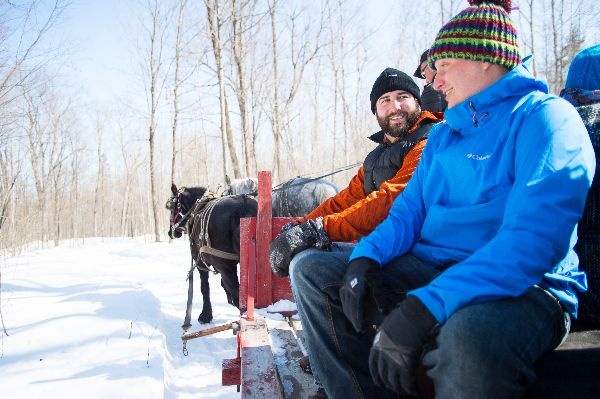 FULTONS _ MAPLE EXPERIENCES _ OHTO PHOTOSHOOT _ MAPLE HORSE SLEIGH RIDE _ WINTER _ CREDIT TO TREVOR LUSH _ LIMITED PERMISSIONS _ 2014 (5)