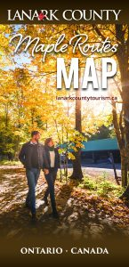 Lanark County Maple Routes Map Final Cover 2017 Edition