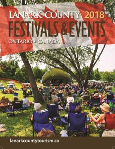 Lanark County Festivals and Events Guide Cover 2018