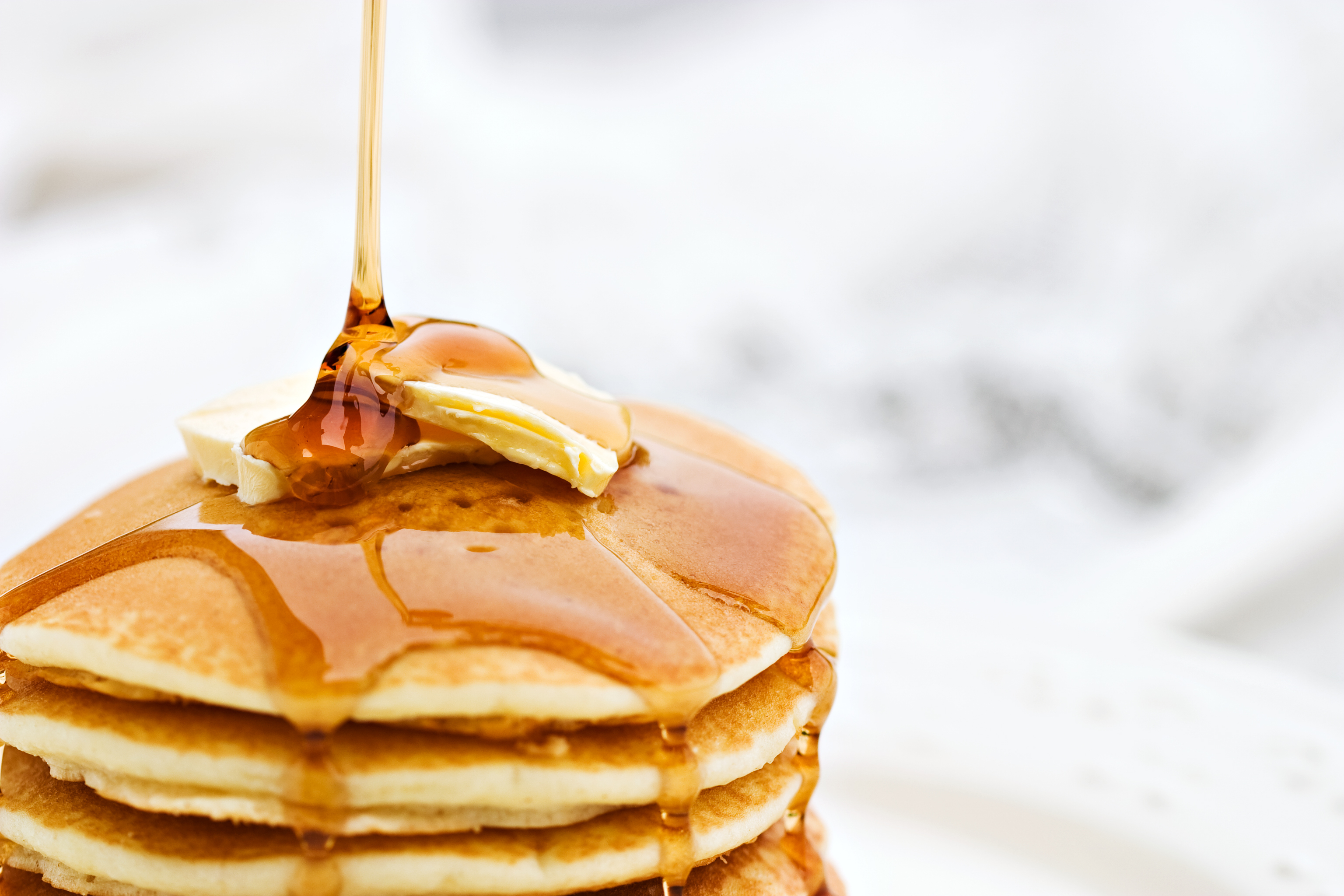 PANCAKES MAPLE SYRUP _ STOCK PHOTO _ PRINTABLE UNDER 250,000
