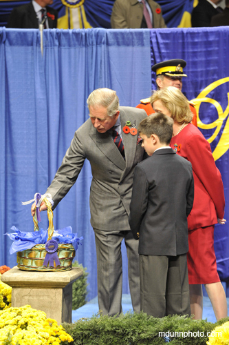 Prince Charles at the Royal Winter Fair